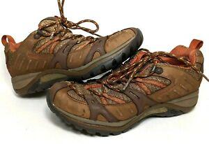 Merrell Womens Size 8 Brown Siren Sport Otter Baked Clay Hiking Trail Sneaker