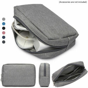 Portable Travel Storage Bag Organizer for Digital Accessories USB Cable Earphone
