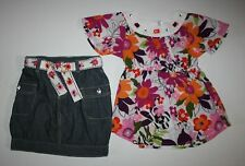 New Gymboree 2 Piece Outfit Wild For Zebra Top & Shirt Set Size 5 year NWT