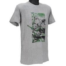 Oakley 452581 T-Shirt Size L Large Heather Grey Mens Boys Slim Fit Cotton Tee