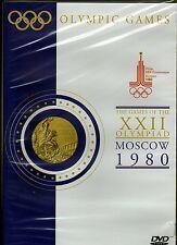OFFICIAL OLYMPIC GAMES, MOSCOW 1980 DVD (Seb Coe, Steve Ovett, Boycott, A Wells)