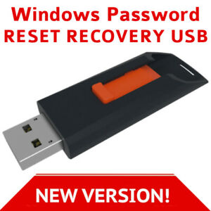 Windows Password Reset Recovery 2020 on USB for Windows 10, 8.1, 8, 7, Vista, XP