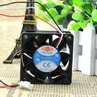 6025 12V0.80A DF126025BU 60 60 25MM 6CM violent PWM control speed three wire fan