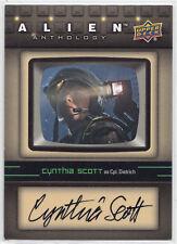 "Upper Deck Alien Anthology ""Cpl. Dietrich"" Cynthia Scott Autograph Card SA-CS"