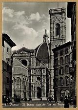Cpsm / Cpm Italie Firenze - il Duomo visto da via dei Pecari wn1214