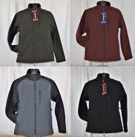 NWT Kirkland Signature Men's Fleece Lined Full Zip Jacket Variety Available