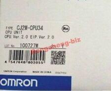 OMRON-CJ2M-CPU34-CJ2MCPU34-CPU-ETHERNET-UNIT-CONTROLLER-PLC-MODULE-NEW