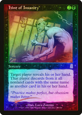 Hint of Insanity FOIL Odyssey NM Black Rare MAGIC THE GATHERING CARD ABUGames