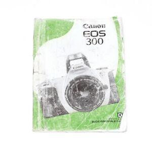 Canon EOS 300 Bedienungsanleitung / Instruction Manual deutsch vom Händler