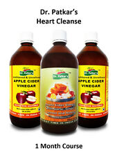 Dr Patkars Apple Cider Vinegar with Heart Cleanse pack Unfiltered with mother