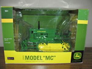 """SpecCast 1:16 1949 John Deers Model """"MC"""" Crawler Tractor with Blade"""