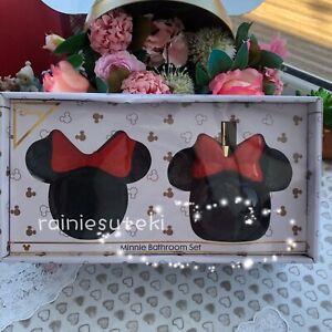 Primark Disney Minnie Mouse Bathroom Set Minnie Soap Dish & Dispenser Brand New