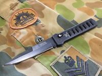 Quality Sharp Military Army Fighting Tactical Stealth Combat Folding Blade Knife