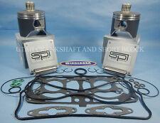 POLARIS 800 CFI SPI STD PISTONS TOP END GASKET KIT 08-10 2008-2010 2009 09 RMK