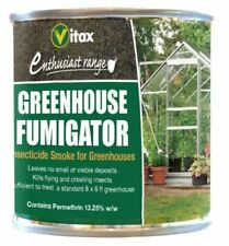 More details for vitax greenhouse fumigator pest insecticide smoker for 8 x 6 ft greenhouse 3.5g