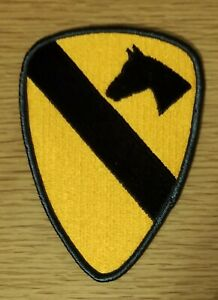 US ARMY 1ST CAVALRY DIVISION FIRST TEAM PATCH - USGI - MADE IN THE USA!