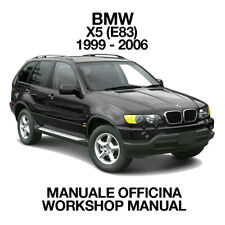 BMW X5 E53 1999 2006. Service Manuale Officina Riparazione Workshop Manual ENG