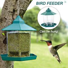 Waterproof Gazebo Hanging Wild Bird Feeder Villa Garden Station Outdoor Feeding