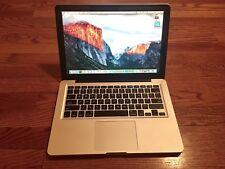 "Apple MacBook Pro A1278 13.3"" Laptop Computer 500GB PHOTOSHOP CS6 iWork 8GB Ram"