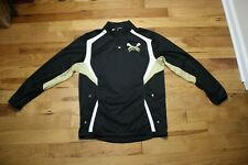 Western Michigan Broncos LaCross player/game used warm up jacket size large