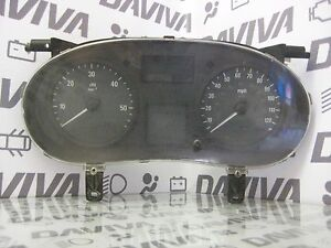 2002-2006 Renault Vivaro Trafic RHD Speedometer Instrument Cluster 88311302