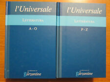 Enciclopedia L'Universale Le Garzantine - Letteratura - vv. 4-5 (2005)