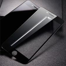 Cubierta Completa De Vidrio Templado para iPhone 8 Plus Protector Protector de Pantalla-Negro