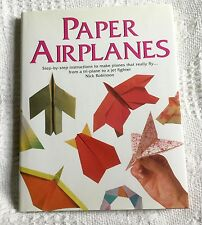 PAPER AIRPLANES - NICK ROBINSON - MAKE A PAPER TRI-PLANE OR A FIGHTER!