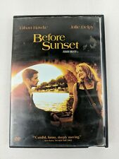 Before Sunset Movie Dvd Romance Ethan Hawke Julie Delphy 2004 Works