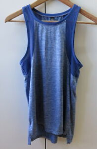 Pretty Blue with Mesh Tank Top from Cotton On - Size XS