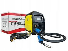 MIG 208 ALU SYNERGIA SYNERGY MAG FOR ALUMINUM WELDER WITH LCD PANEL TIG LIFT MMA