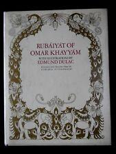 RUBAIYAT OF OMAR KHAYYAM - BY EDWARD FITZGERALD -ILLUSTRATIONS EDMOND DULAC