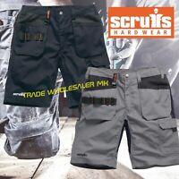 Scruffs TRADE FLEX HOLSTER SHORTS MULTIPOCKET Slim Fit Hard Wearing Work Shorts