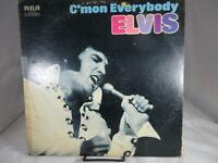 ELVIS PRESLEY C'MON EVERYBODY - CAL-2518, ROCK N ROLL, MONO RECORD LP VG+ c VG