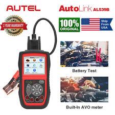 Autel AL539B Car OBD2 Scanner Code Reader Auto Diagnostic Scan Tool Battery Test