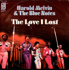 HAROLD MELVIN & THE BLUE NOTES the love I lost part 1&2 45RPM orig Italy