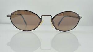 Maui Jim MJ-301-23 Bronze Metal Oval Sunglasses Frames Japan