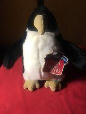 GUND Vintage 1993 Plush Penguin Toy Animal Waterloo 3211 NWT
