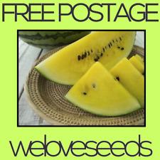 LOCAL AUSSIE STOCK - Yellow Watermelon, Fruit Tree Plant Seeds ~15x FREE SHIP