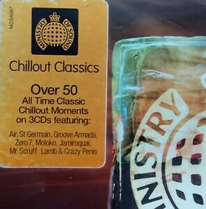 Various : Ministry Of Sound - Chillout Classics. 2007 Aussie 53 Track 3 CD Box