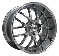 HD Wheels MSR 20x10 Rims 5x114.3 +42mm 5-Lug Chrome Finish *SALE*