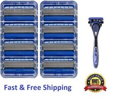 9 Schick Hydro5 Razor Blades Cartridges Refills Men's Shaving Shaver handle 4 8