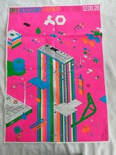 Teenage engineering op-1 keyboard synthesizer accessory launch poster limited ed