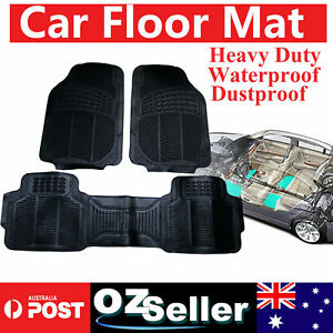 Waterproof Heavy Duty Deep Dish Rubber Car Floor Mats For Nissan Navara D40