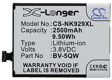 Nueva batería para Nokia Icom Lumia 929 Lumia 929 + bv-5qw Li-ion Reino Unido Stock