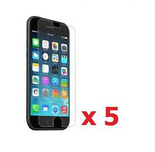 """5 x New Crystal Clear LCD Screen Protector Cover for iPhone 6 4.7"""""""