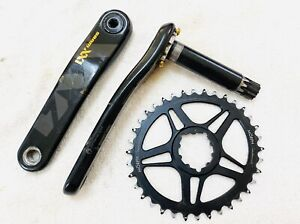 SRAM XX1 Eagle Crankset 12 speed GXP 175 mm with 36T MORPH Oval chainring