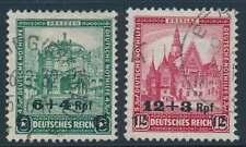 D.Reich Nr. 463-464 gestempelt,  Nothilfe Bauwerke (III) 1932 (34531)
