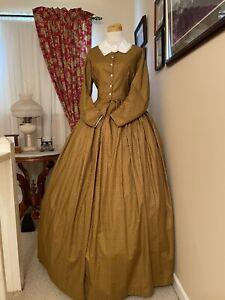 Civil War Reenactment Day Dress Size 14