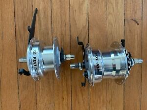 Sturmey Archer Drum Brake Hubset RX-RD5 5s internal rear, dynamo front, new